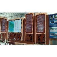 广州匠能厂家专业承接南沙湿地景区评星级项目南沙湿地导致览图景区简介牌标牌制作工程