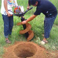 挖树坑机 园林植树地钻挖坑机 多功能破土机