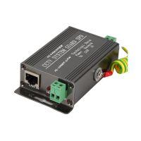 网络监控二合一防雷器1000M监控网络摄像机RJ45网线浪涌防雷器