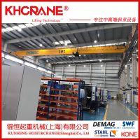 上海欧式电动单梁起重机 1t2t3t5t8t10t单梁桥式起重机 桥式单梁行车