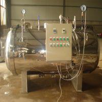 春泽机械全自动高温高压卧式杀菌锅 双层不锈钢杀菌锅