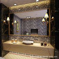 可轩马赛克背景墙 水晶玻璃客厅卫生间浴室冰裂瓷砖电视背景墙砖
