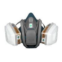 3M 650P 防毒面具套装 工业防尘过滤式呼吸防护口罩 防毒半面罩