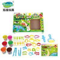*厂家直销儿童彩泥工具套装黏土玩具可动手能力套装玩具