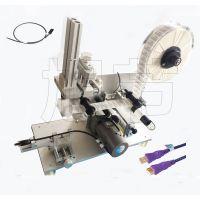 金属管对折贴标机/气动电线电缆对折贴标机定制