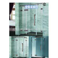 方形推拉淋浴房 酒店简易钢化玻璃淋浴房 铝合金淋浴房 厂家直供