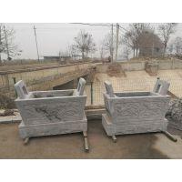 厂家直销征和石雕厂供应工艺精美石雕香炉 圆形 方形规格齐全