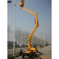 供应修路灯用升降平台 高空作业平台 GKT液压升降机