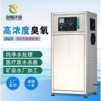供应广州创粤CYO-20g氧气源臭氧发生器一体机 食品生产用水臭氧杀菌消毒设备