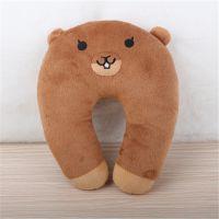 可爱动物减压U型枕腰枕一套护颈枕午睡脖枕U形枕腰靠枕头熊