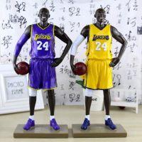 特大号篮球明星仿真人物版树脂装饰公仔模型手办