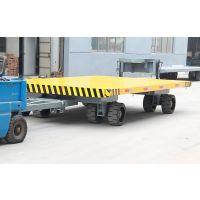 13T平板拖车 13吨厂区拖车 拉货拖车