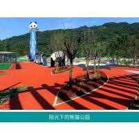 户外主题乐园创意熊猫造型景观不锈钢滑梯 趣味游乐设备设计定制