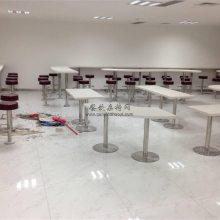东莞商业美食街吧台椅子定做,人造石吧台规格尺寸