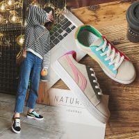 2018新款女鞋ins超火的鞋子女左右小白鞋韩版休闲鞋系带学生板鞋