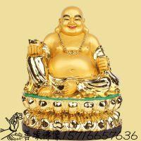 河南善缘佛像厂直销树脂玻璃钢弥勒佛神像