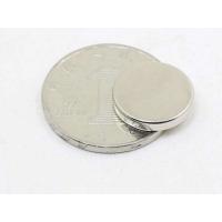 供应东阳市磁铁厂家 【2018-12-22】定制薄圆片钕铁硼磁铁D259