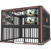 TOPOW厂家直销无限矩阵 大型多人射击游戏设备 团体比赛项目vr虚拟现实设备