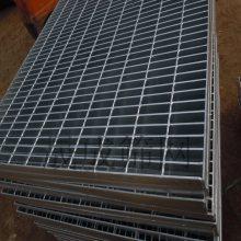 广东珠海4s店专用钢格栅盖板 阳江平台格栅板 脚踏行人沟盖板