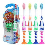 厂家直销韩国卡通小丑儿童牙刷韩版创意纳米软毛深度清洁牙刷批发