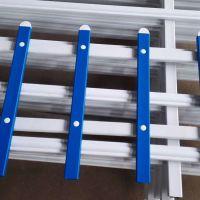 花池栏杆价格 小区花园护栏 塑钢小栅栏厂家