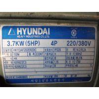 现代电机HYUNDAI HEAVY INDUSTRIES HK113AF202ER2DC 3.7KW
