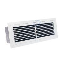 楼宇大厦中央空调百叶窗净化除尘器排烟单层百叶回风口空气净化器利安达