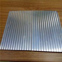 瓦楞波浪铝板 波浪形瓦楞板 装饰铝合金建材