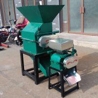 多功能对辊式粮食加工设备 家用大豆挤扁机 花椒破碎机生产厂家