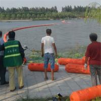 河道漂浮垃圾拦污带浮筒式拦污排生产厂家