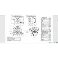 双舵轮牵引2-3T方案 速度可达1m/s 意大利CFR舵轮MRT10