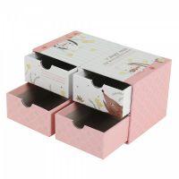 高档首饰盒戒指耳钉耳环手链项链饰品收纳盒定制 小礼品包装盒