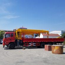 东风12吨随车吊支持分期济宁随车吊厂家