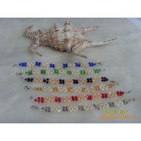 珍珠手链梅花款式 漂亮时尚天然淡水珍珠厂家直销