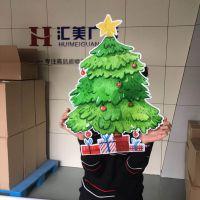 深圳八卦岭异形卡通画面kt板广告制作喷绘写真厂家