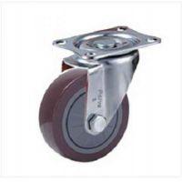 1s系列轻型单轴承高强度聚氨酯脚轮