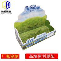 牛奶展示台柏菲兰品牌雪弗板PVC发泡板展架东莞锦瀚工厂定制展示架