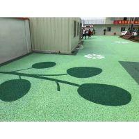 陕西延安誉臻彩色透水路面艺术压花地坪施工完成,材料厂家直供性能优异,轻集料混凝土