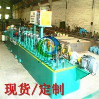 无锡直缝焊管机 高频小型管不锈钢焊管机组 高端复合管生产设备