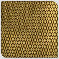 电梯轿厢金属网/无缝镜面金属编织网/扁条彩花铜丝不锈钢丝网/金属装饰网