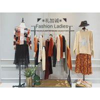 广州批发市场米琪娅明星同款毛衣品牌折扣女装货源哪里好