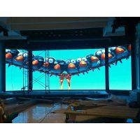 酒楼内宴会厅p4LED舞台显示屏生产厂家价格