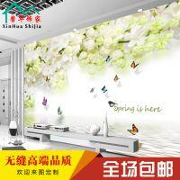 厂家定制大型3D壁画客厅电视背景墙纸装修效果图壁纸卧室自粘墙布