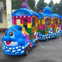 厂家直销AS-0014 14人座托马斯电动小火车游乐园观光游览车
