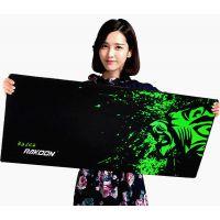 RAKOON/雷扩 游戏鼠标垫大号加厚锁边网吧鼠标垫电脑办公键盘桌垫