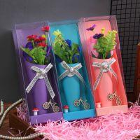 创意情人节礼品盒花 diy礼盒送人小礼品花束 一件代发