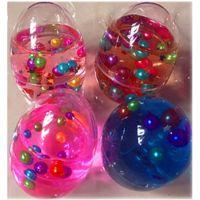 跨境热销 4色彩蛋珍珠水晶泥创意史莱姆DIY儿童手工彩泥现货供应