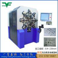 供应自动成型机 机械设备 数控弹簧机 银丰弹簧机 铁线工艺品成型