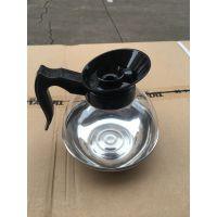 厂家直销 不锈钢钢底咖啡壶 美式咖啡机专用 茶壶 冷水壶