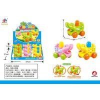 888儿童益智趣味按压奔跑卡通小鳄鱼9只装热销玩具厂家批发